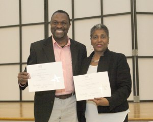 George Byfield, Comet Media Group and Arlease Hall, Florida Department of Health in St. Lucie